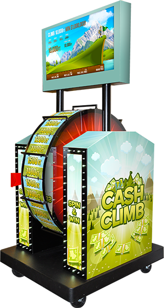 Cash Climb Wheel Game