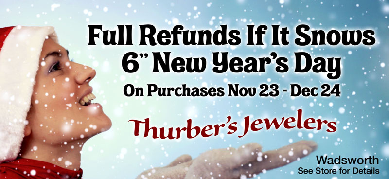 Conditional Weather Rebate - Thurber's