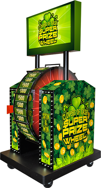 Clovers of Cash Super Prize Wheel