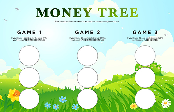 Money Tree Collect and Win Game