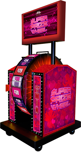 Cupid's Cash Super Prize Wheel