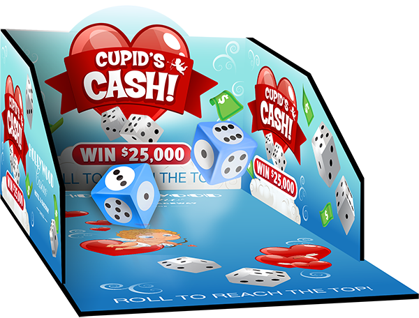 Dice Roll Box Cupids Cash