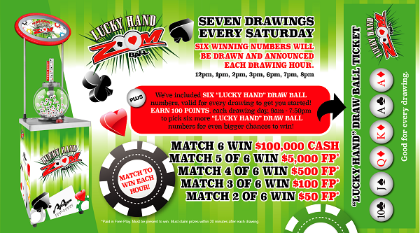 Poker Big Draw Postcard - Front