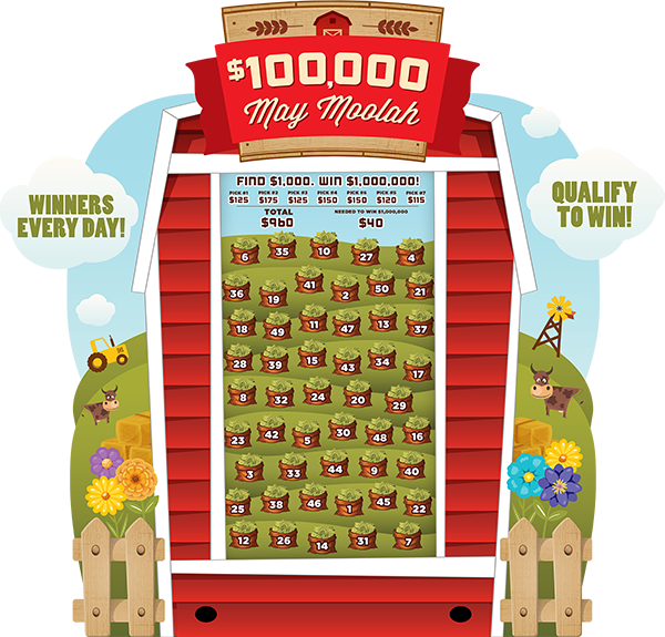May Moolah electronic Game Board Promotion