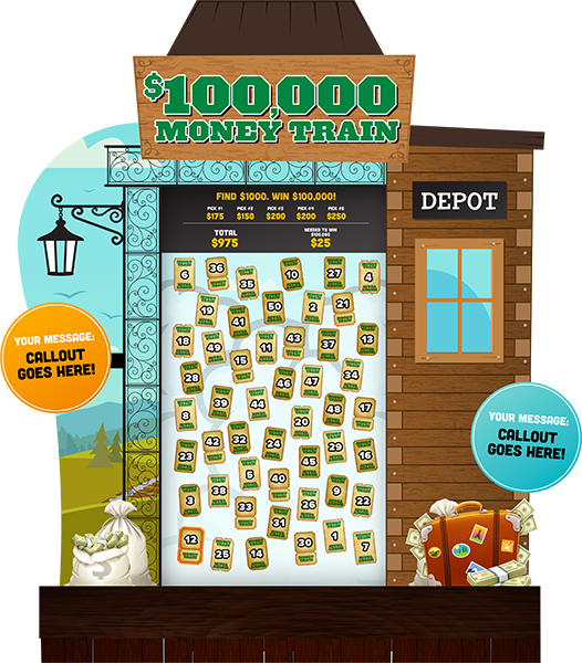 Money Train eGame Board Promotion