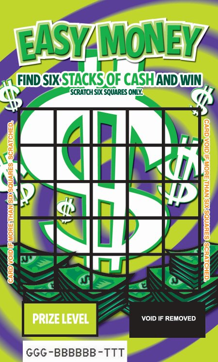 Easy Money Scratch & Win Card