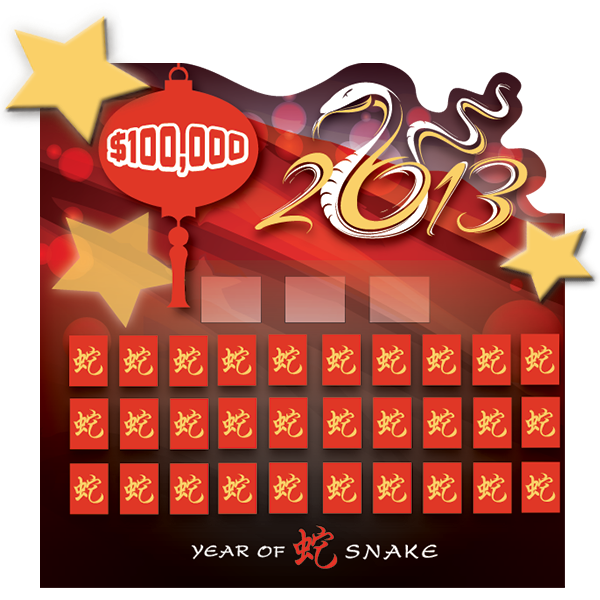 Year of the Snake Game Board