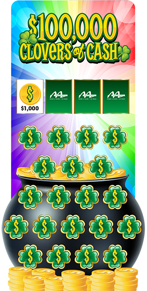 Clovers of Cash Game Board