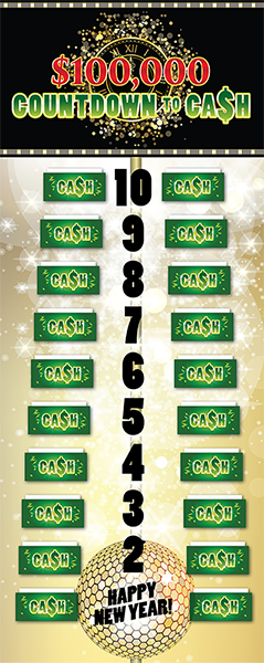 Countdown to Cash Game Board