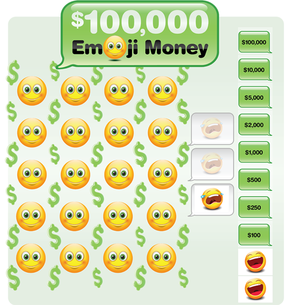 Emoji Money Game Board