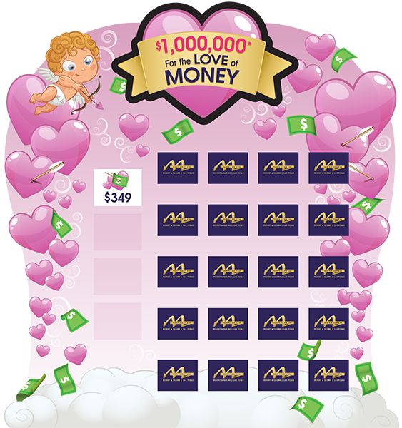 For the Love of Money Game Board