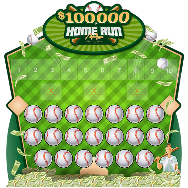 Home Run Baseball Game Board