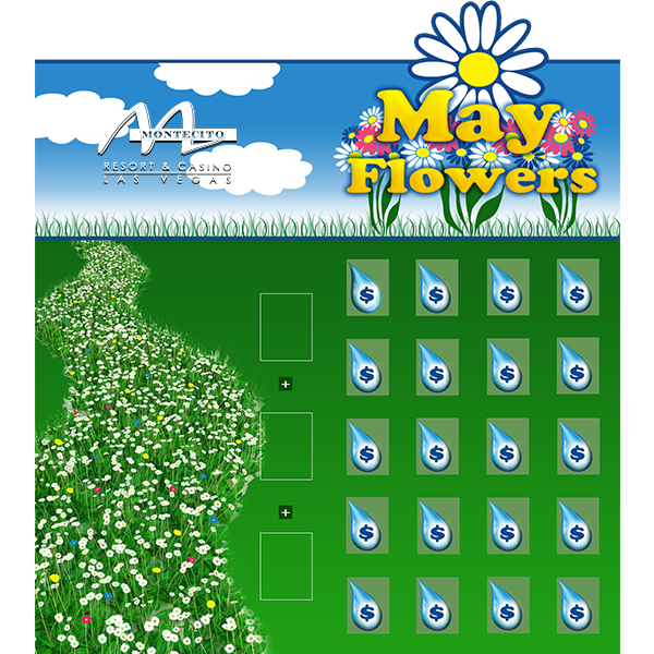 May Showers Millionaire Game Board