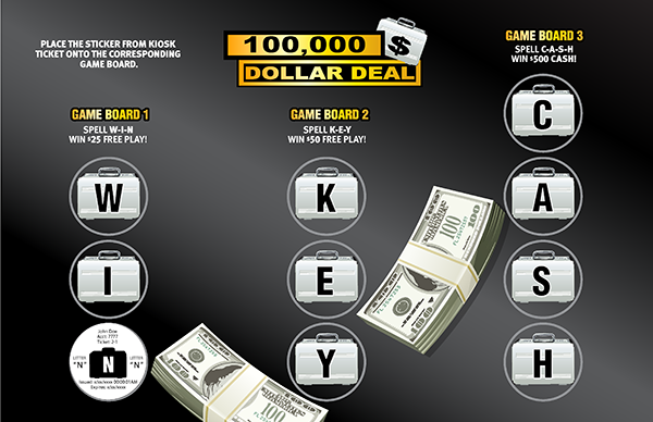 Dollar Deal Collect & Win Game
