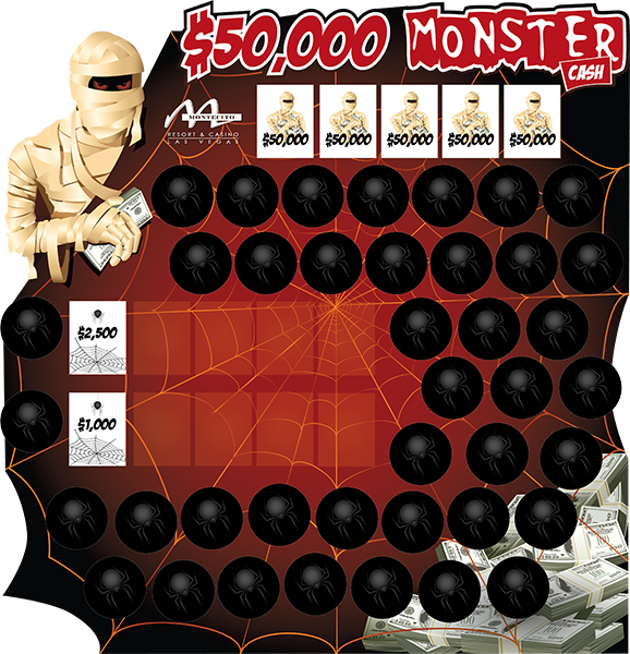 Monster Cash Game Board