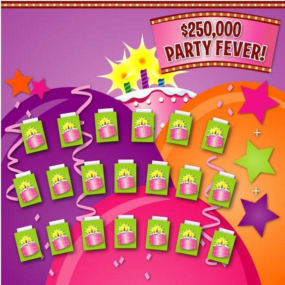 Party Fever Game Board