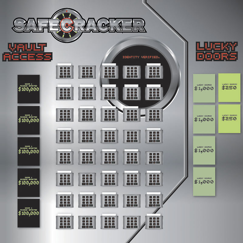 Safecracker Game Board