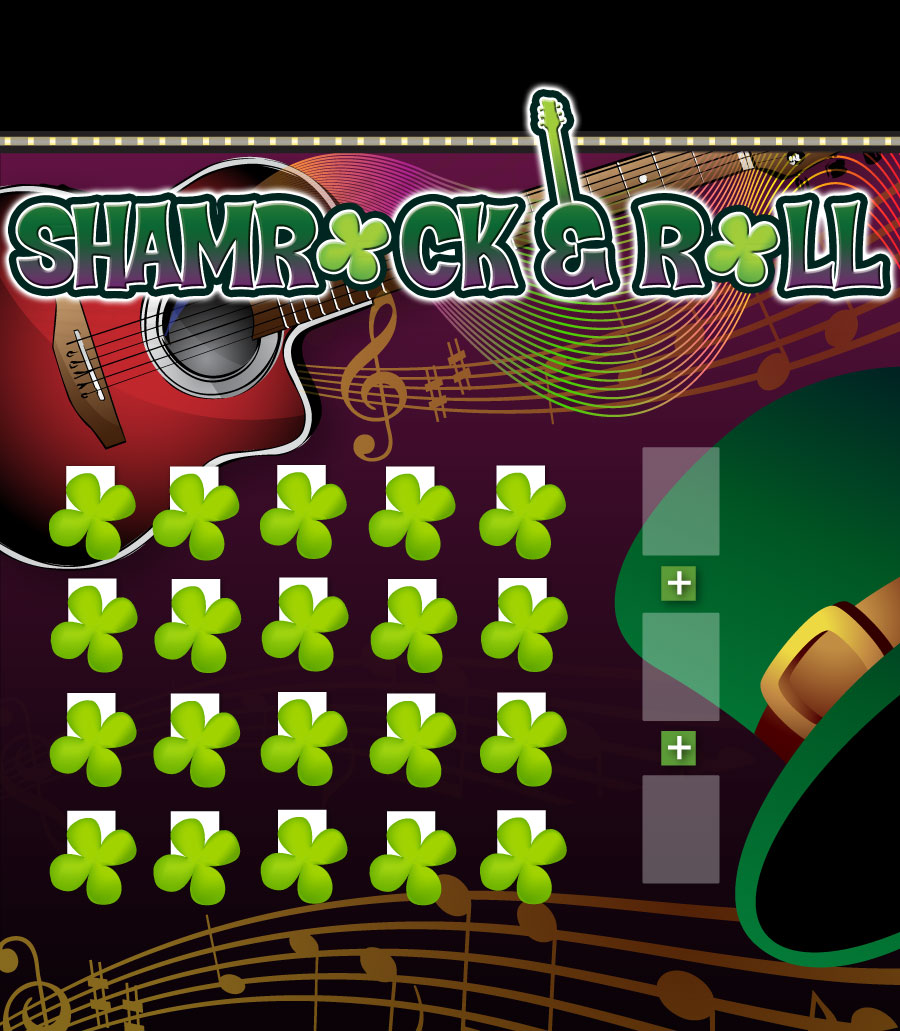 Shamrock and Roll Game Board