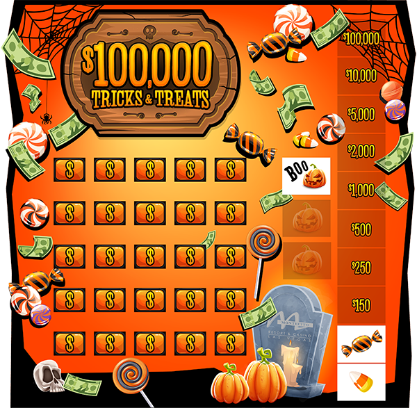 Tricks or Treats Game Board