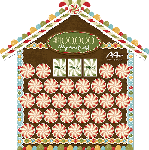 Gingerbread Bucks Game Board