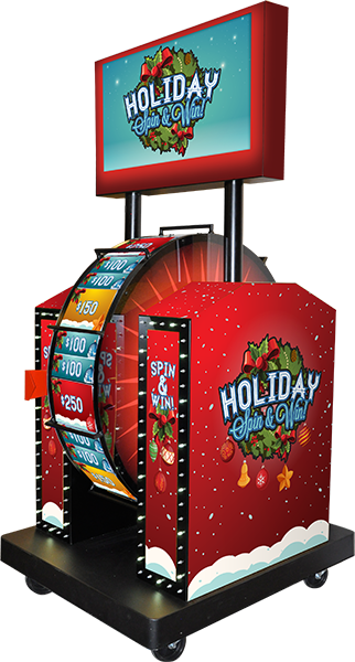 Holiday Wheel Spin Promotion