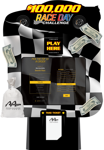 Nascar Race Day Challenge Promotion