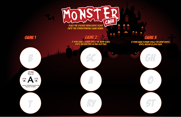 Monster Cash Collect and Win