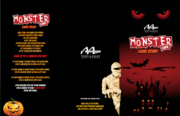 Monster Cash Collect and Win Sample