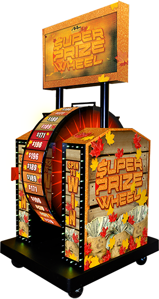Autumn Super Prize Wheel Mechanical