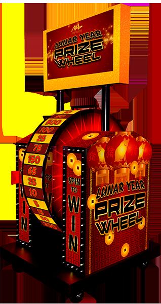 Lunar New Year Prize Wheel - Mechanical
