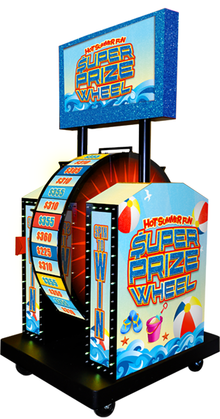 Hot Summer Fun Super Prize Wheel