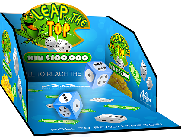 Dice Roll Box Leap to the Top