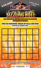 Sizzling Hot Scratch Card