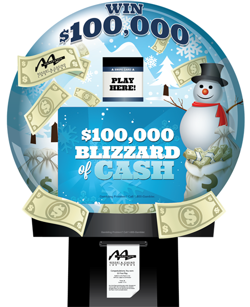 Blizzard of Cash Kiosk Promotion