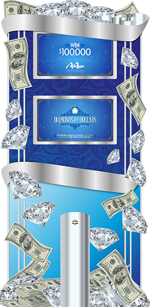 Diamonds and Dollars Deluxe Kiosk