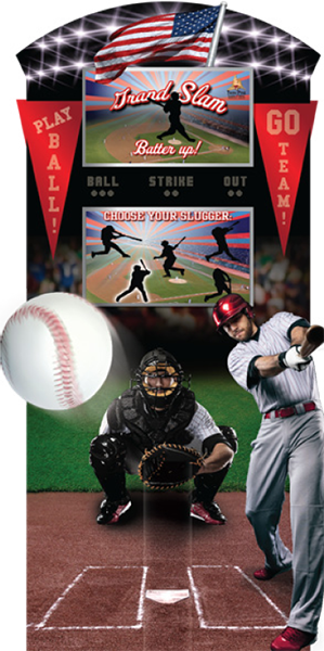 Grand Slam Kiosk Baseball Promotion
