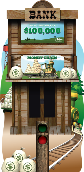 Money Train Deluxe Kiosk