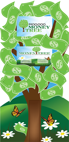 Money Tree Deluxe Kiosk