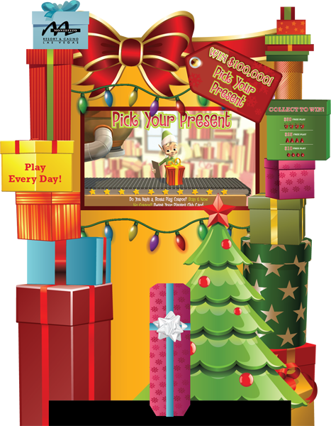 PIck Your Present Deluxe Kiosk