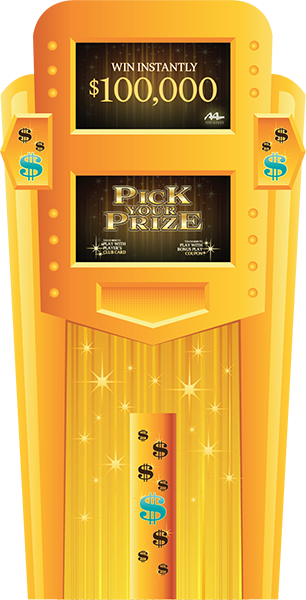Pick Your Prize Deluxe Kiosk