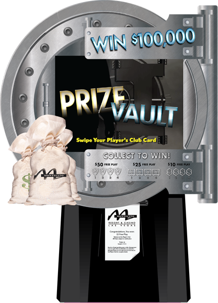 prize vault machine how to win