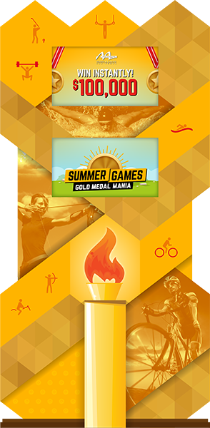 Gold Medal Mania Summer Games Promotion