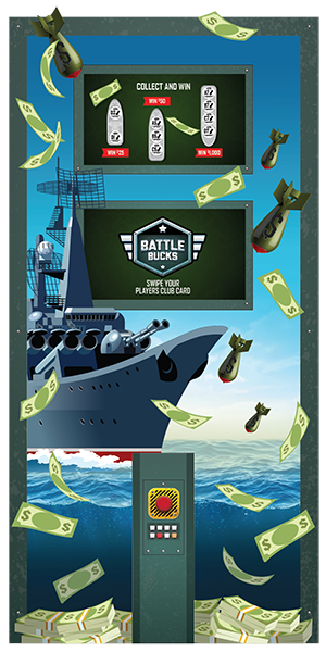 Battle Bucks Kiosk Promotion