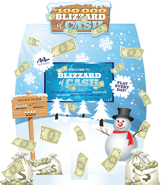 Blizzard of Cash Super Kiosk