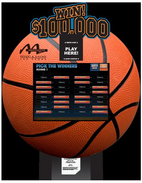 Basketball Bracket Challenge Lite Kiosk