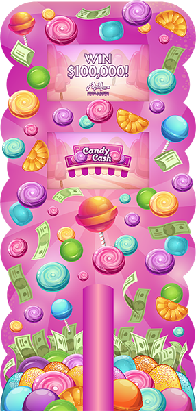 Candy Cash Deluxe Kiosk