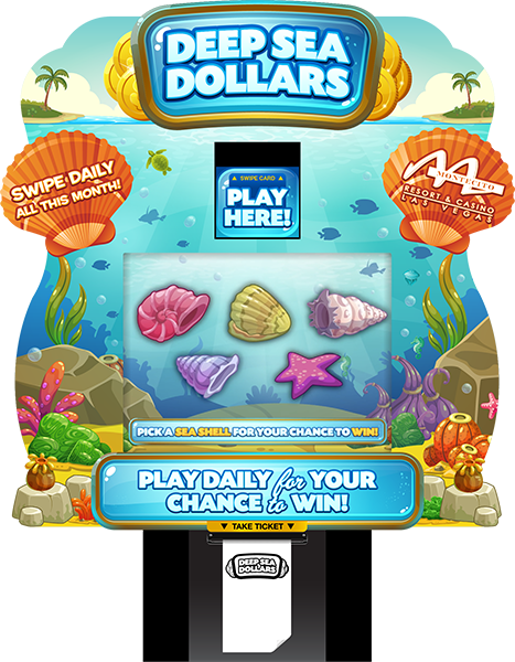 Deep Sea Dollars Lite Kiosk