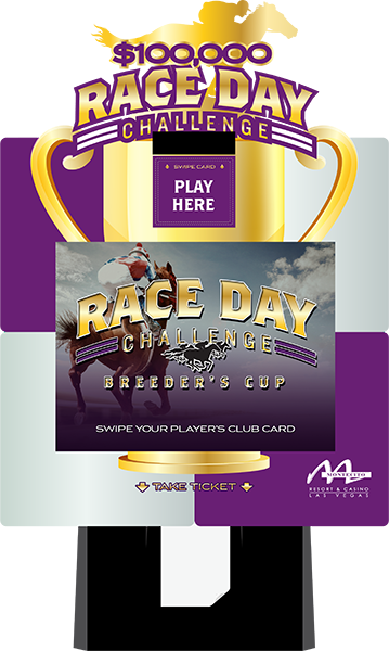 Horse Breeders Cup Race Day Challenge Promotion