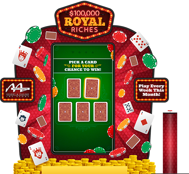 Royal Riches SPW - 80-in Vertical Kiosk