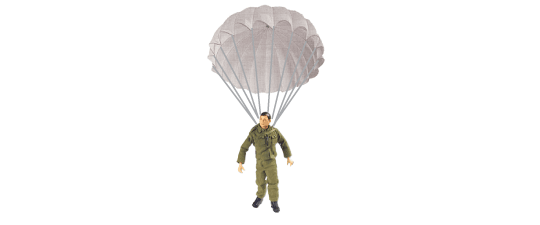 G.I. Joe Parachute Drop